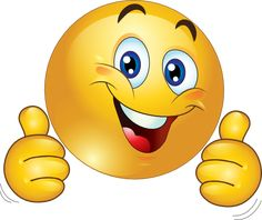 Two Thumbs Up Happy Smiley Emoticon Clipart Royalty ... - ClipArt Best - ClipArt Best