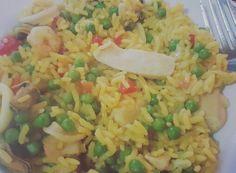 #paella #fish #foodporn #rice
