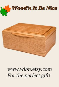 Custom made jewelry box of American black cherry. Beautiful now, the natural cherry will continue to darken and gain that rich, deep color that is so beautiful. Carefully crafted of the finest materials to last a lifetime. Jewelry Box, Jewelry Making, 5th Wedding Anniversary, Aesthetic Design, Wood Boxes, Gain, Cherry, Deep, Elegant