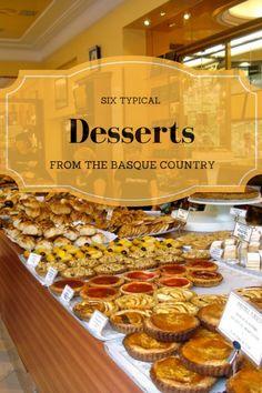 Six Typical Desserts from the Basque Country 6 Typische Desserts aus dem Baskenland – Verschlingen Sie San Sebastian Food Tours Spanish Desserts, Spanish Cuisine, Spanish Food, Basque Food, Basque Country, Foodie Travel, Sweet Tooth, Meals, Spain Travel