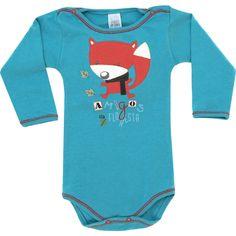 Body Bebê Menino Amigos da Floresta Cru - Patimini :: 764 Kids | Roupa bebê e infantil