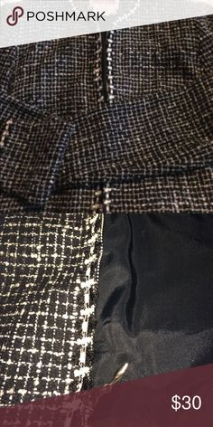 Maggy London short suit jacket Size S Front zip no collar suit coat. This looks very nice with a pair of jeans or a pair of black dress pants. Maggy London Jackets & Coats Blazers