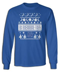 ISU Sycamores - Oh Sycamore Tree (Ugly Christmas Sweater)