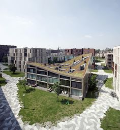 Image 1 of 47 from gallery of Funen Blok K - Verdana / NL Architects. Photograph by Raoul Kramer