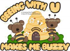 Beeing with u- www.scrappingbugdesigns.com
