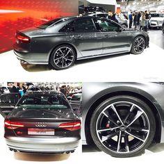 #ViennaAutoshow: Drive or be driven?  605hp #Audi #S8plus  More of #ViennaAutoshow2016 at #adigvas16 oooo   @audidriven  @messe_at oooo are you #audidriven? - for repost & like oooo #AudiS8plus #S8 #greyAudi #Audicolor #AudiS8 #AudiA8 #A8 #quattro #quattroGmbH #AudiSport #Wien #Vienna #igersaustria #igersvienna #Audicolor #messewien #Daytonagrey #blackoptics #autoshow