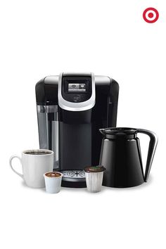 The Keurig 2.0 K300 coffee brewing system is a gift that's sure to please the java lover on your Christmas list. Simply touch a button, and you can brew one cup—or four. The machine reads the lid of each K-Cup or K-Carafe for a perfect brew every time. It makes cocoa, chai and mochas, too.