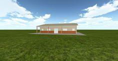 3D #architecture via @themuellerinc http://ift.tt/2qdzxUz #barn #workshop #greenhouse #garage #DIY