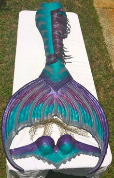 mermaid tail and top