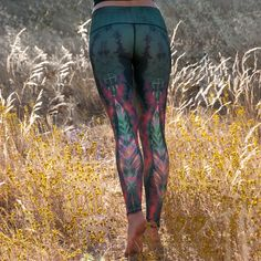 Teeki - Eagle Feather Green Hot Pant