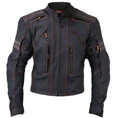 Vulcan Mens VTZ-910 Street Motorcycle Jacket