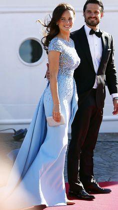 Princess Sofia in Zuhair Murad