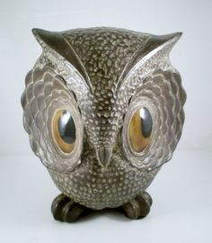 abstract owl pottery | Vintage Owl Ceramic Figurine Large Eyes by TheOwlLady on Etsy
