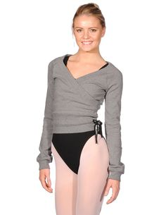 581f2a0d298c3 Danskin NYCB Dance Fashion Wrap Sweater 1796 From Invest in this stylish  ladies New York City Ballet dance fashion wrap sweater