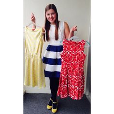 """She is certainly one well dress woman! """"that moment when you realize everything you own is a dress… #IAmMe #PreOrderNOW #YellowShoes"""" -Gracie"""