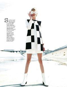 visual optimism; fashion editorials, shows, campaigns & more!: un po' anni 60: noreen carmody by roberto d'este for grazia italia 17th may 2013