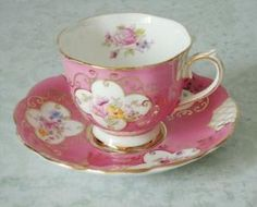Vintage Tea Cup and Saucer by tracie