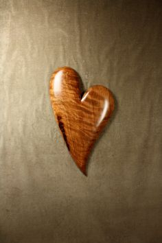 Wood Carving Wood Heart Wooden 5th Wedding by TreeWizWoodCarvings, $175.00 #fifthanniversarygift