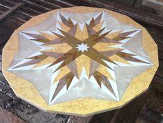 rosone in marmo diametro m.1