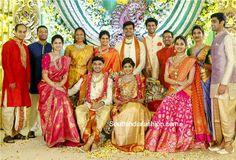 vasundhara_jewellery_son_marriage.-love the colour combo_pink n orange   love thecolour combo pink n orange