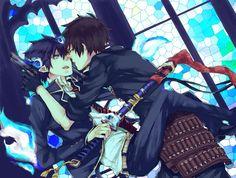 Rin c Yukio (Ao no exorcist)