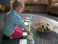 Montessori Messy: The Bells: Listening, Matching and Grading