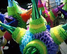 Handmade piñatas