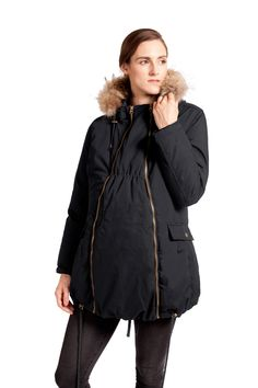 SARA - 3-in-1 Maternity Parka • Modern Eternity Maternity & Regular