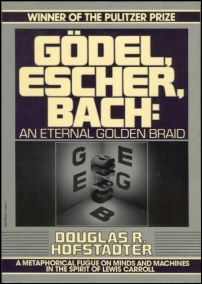 Hofstadter's Godel, Escher, Bach: An Eternal Golden Braid is an amazing work that covers mathematics, recursion, programming, artificial intelligence and a host of other topics, connecting them all in a rational framework. This book is nothing less than a stunning work of art.  Note even that the first letters of the names Godel, Escher and Bach are braided, one over the other, as EGB, to form the initials for the subtitle, Eternal Golden Braid.