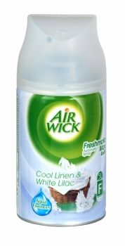 AIR WICK FRESHMATIC REFILL 250ML COOL LINEN & WHITE LILAC