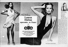 The Model Archives of Marlowe Press  Elite Model Management (Paris)1973