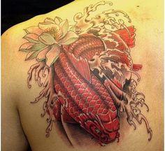 15 Colorful Koi Fish Tattoo Designs