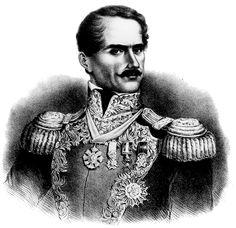 General Antonio López de Santa Anna, tyrannical dictator of Mexico. Responsible for the Goliad Massacre, Goliad, Texas