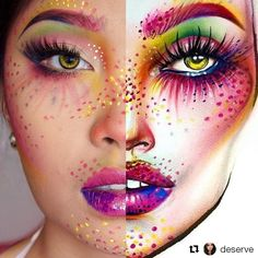 Wow!  This face chart recreation by @deserve is so creative!!  On her lips she's using KleanColor Madly Matte Lip Gloss in Polignac (1630). #kleancolor #repost #facechart #creativity #slay #lips #lippie #madlymatte #matte #lipgloss #polignac #makeup #makeupjunkie #mua #cosmetics #beauty
