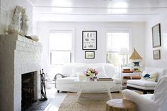 Sally Lee by the Sea Coastal Lifestyle Blog: {Cottages} We're Wild About White