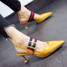 c700d17e079 2017 Fashion Summer Casual High Heels Women Thin Heels Sandals Shoes from  Eoooh❣❣
