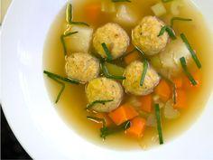 Iranian matzo ball soup