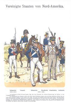 Vol 12 - Pl 44 - Vereinigte Staaten von Nord-Amerika: 1810-1813. 1813-1821.