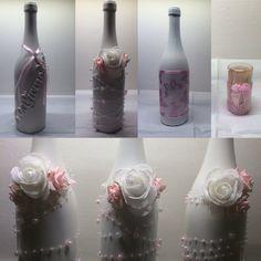 Flasker til lys og tandstikholder