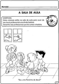 Atividades Para o Primeiro Dia de Aula Educação Infantil Para Imprimir | Mensagens e Atividades Back To School, Wordpress, Comics, Fictional Characters, Junho, Brad Pitt, Website, Painting Activities, Infant Activities