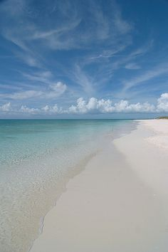 Grace Bay, Providenciales, TCI, BWI. Sand so soft it could be baby powder.