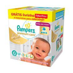 [Araujo] Pampers Premium a partir de R$ 096 Personal Care, Discount Coupons, Self Care, Personal Hygiene