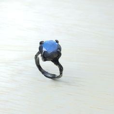 Alternative engagement ring Labradorite ring Nature ring by youzan on Etsy