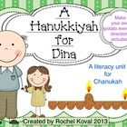 Reading, Chanukah - The book, A Hanukkiyah for Dina by Floreva G. Cohen goes along beautifully with Chanukah. It's about a young girl who wants a menorah of her own. E...