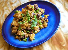 minxeats - recipes, recaps, and restaurant reviews: Safffron Rice and Beans