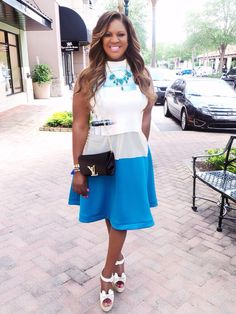 What I wore for my meeting with my media sponsors for the Women's Success Conference 2014 July 24th-26th. www.WomensSuccessConference.com
