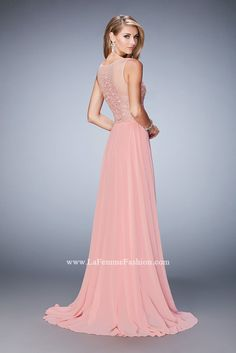 Look red-carpet-ready in Gigi Prom Style 22824 available at WhatchamaCallit Boutique