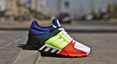 """Adidas Equipment Support 93 """"Color Blocking"""" bei Afew"""