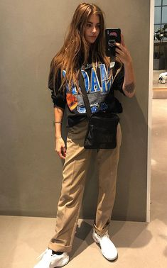Queer Fashion, Fashion Killa, Fashion Outfits, Tomboy Street Style, Clara Berry, Pretty Outfits, Cute Outfits, Ugly Outfits, Mix Style