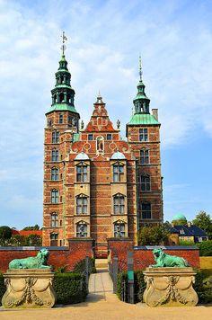 Rosenborg Castle Copenhagen Denmark Print By Eva Kaufman